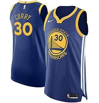 Nike GSW M Nk Auth JSY Road Camiseta 2ª Equipación Golden State ...