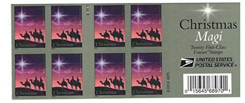 Christmas Magi 2014 New Issue USPS Forever Stamp - Book of 20
