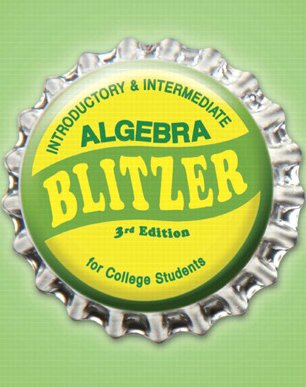 Introductory &Intermediate Algebra for College Students, Books a la Carte Edition (3rd Edition)
