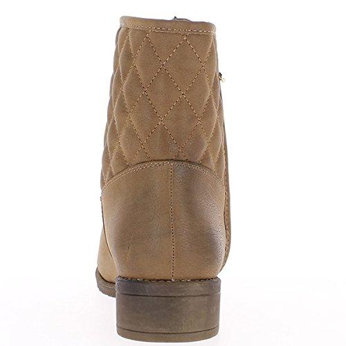 Caviglia Donna stivali grandi dimensioni raddoppiate talpa nel tacco 4cm