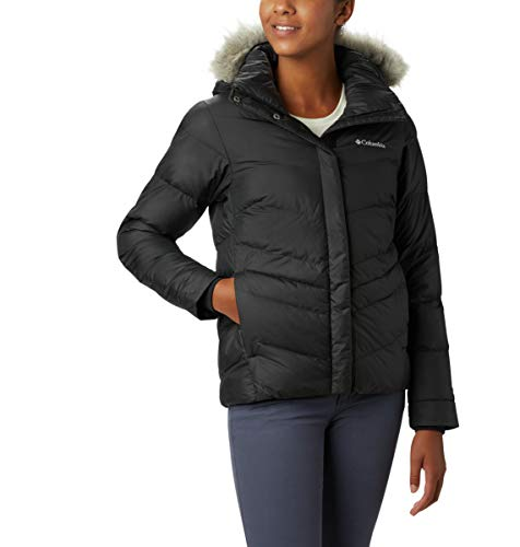 Columbia Women's Peak to Park Plus Size Insulated Jacket, Black, 2X