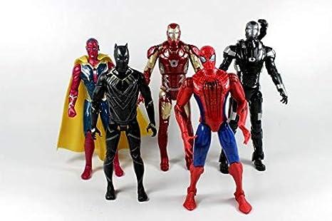 Captain America Civil War The Avengers Iron Man Hawkeye Action Figure Model Toy