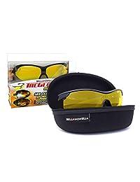 TAC GLASSES by Bell Howell Sports Polarized Sunglasses for Men Women,