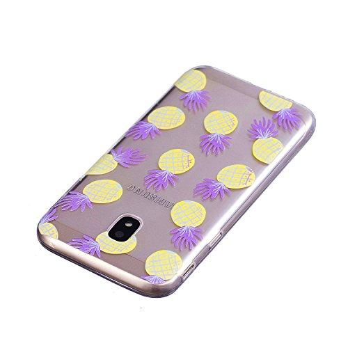 Housse Protection J3 Coque 10 Anti Galaxy de Rayures Lomogo avec Samsung Coque Souple Samsung 11 Anti Galaxy 2017 J3 2017 J330 Motif Transparente Silicone pour Gel Choc LOYXI25004 Hqtfztw