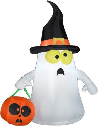 Gemmy 63975X EMW9267923 Inflatable Ghost, Standard, White -