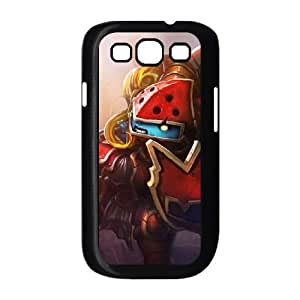 Samsung Galaxy S3 9300 Phone Case Cover Black League of Legends Scarlet Hammer Poppy EUA15991815 Phone Case Cover Personalized Back