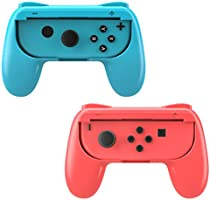 MoKo Nintendo Switch Joy-Con Grip, [2-Pack] Profile-modeling Controller Handle Kit for Nintendo Switch Joy-Con (Black)