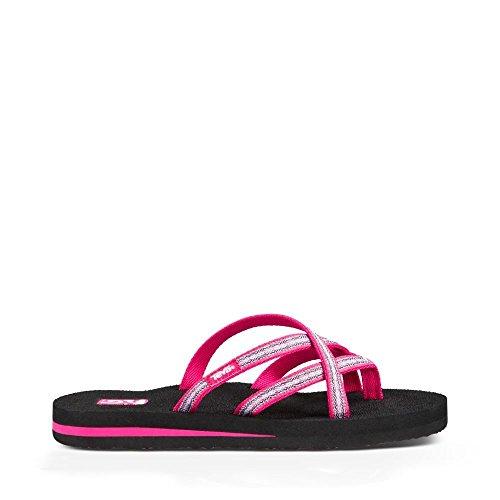 Teva Women's Olowahu Flip-Flop - 9 B(M) US - Pintado Raspberry