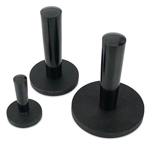 Magnetsystem /Ø 43 mm gummiert mit Griff h/ält 10 kg Extrem stark durch Neodym-Magnete Powersysteme Haft Magnete