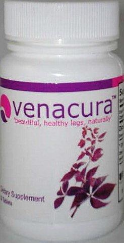 Venacura Beautiful Healthy Legs Naturally 60 Tabs Stop Spider Veins