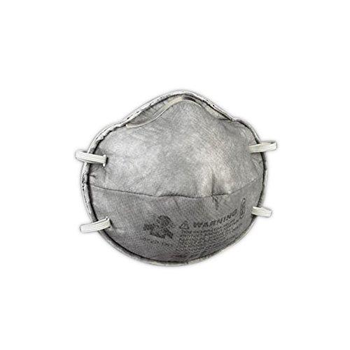 3M 50051138543582 Particulate Respirator, 8247, R95, 20/Dispenser, Standard, Grey (Pack of 20)
