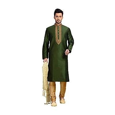 Hot PinkCityCreations PCC Mens Kurta Pajama Wedding Dupion Art silk Mehandi Green India Party supplier