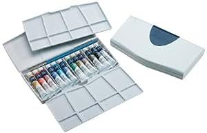 Winsor & Newton Cotman Water Color Painting PLUS 12-Tube Set, 8ml