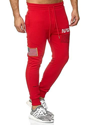 Joggeur Sport De Hommes Nasa Pantalon Redbridge Basic Imprimé Rouge Joggers Pants Pantalons tzgwqZ7E