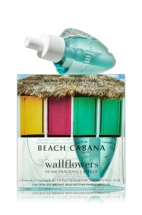 Bath & Body Works Home Wallflowers 2-pack Refills ''Beach Cabana '' by Bath & Body Works