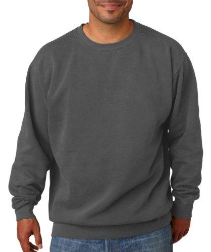 Chouinard Comfort Colors Pigment-Dyed Crewneck Sweatshirt. 1566 - X-Large - Pepper
