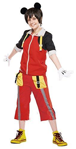 Disney's Mickey Costume -- Kingdom Hearts Cosplay Dress -- Teen / Women's STD Size