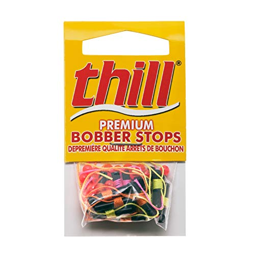 Thill Premium Bobber Stops - Assorted - 6 Each Color