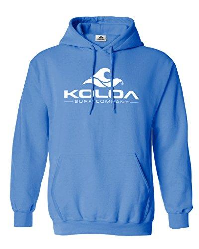 (Joe's USA Koloa Pigment-Dyed Hoodies-Pullover Hooded Sweatshirt-Bluemoon-XL)