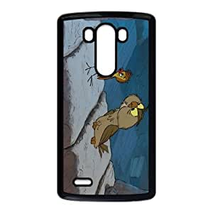 LG G3 Cell Phone Case Black The Sword in the Stone Character Archimedes L1082643
