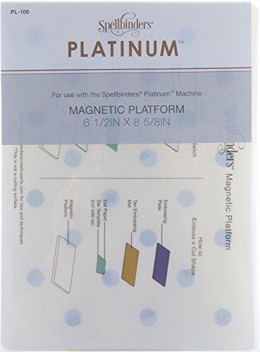 Spellbinders PL-106 Platinum Magnetic Platform, Standard Size by Spellbinders