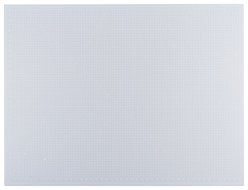 Dahle Vantage 10684 Self-Healing Cutting Mat, 36''x48'',  1/2'' Grid, 5 Layers for Max Healing, Perfect for Cropping, Sewing, & Crafts, Clear by Dahle