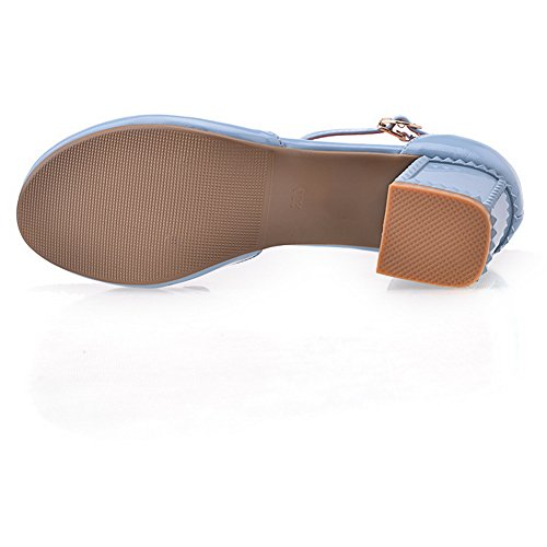 AN Womens Non-Marking Cold Lining Fashion Urethane Sandals DIU00912 Blue jLkhhz