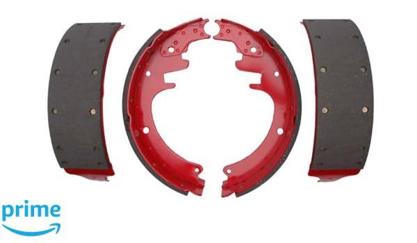 ACDelco 17451R Professional Durastop Riveted Rear Drum Brake Shoe Set
