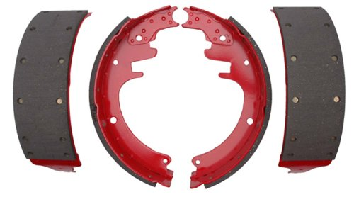 ACDelco 17452R Professional Riveted Rear Drum Brake Shoe Set