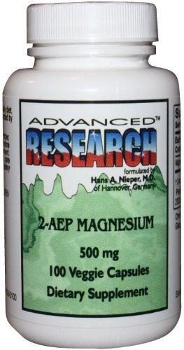 Nutrient Carriers-Advanced Research, 2-AEP Magnesium 500 mg 100 Veggie Capsules (2aep Magnesium)