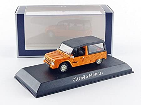 Norev - 150922 - Citroën - Méhari - 1978 - Escala 1/43 - Orange Kirghiz: Amazon.es: Juguetes y juegos