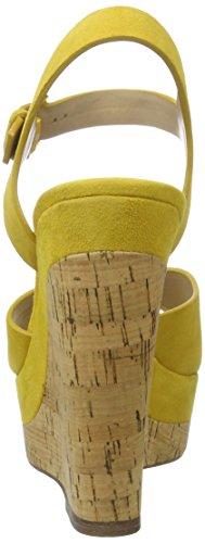 Aldo Madyson, Sandalias de tobillo Mujer Amarillo (mustard)