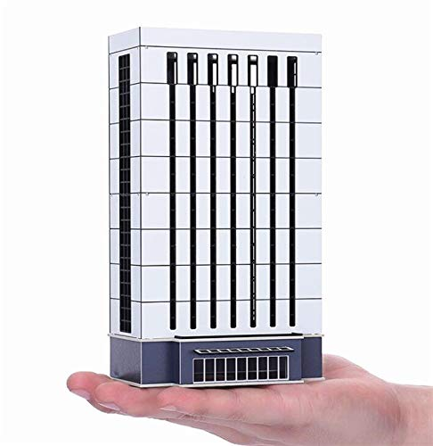 - EatingBiting(R) N Scale 1/150 1/160 Modern Enterprise Government Skyscraper Buildings Models Realism Scene for DIY Sand Table Garden Micro Landscape Ornaments Decor Supply DIY Player Spray Painting