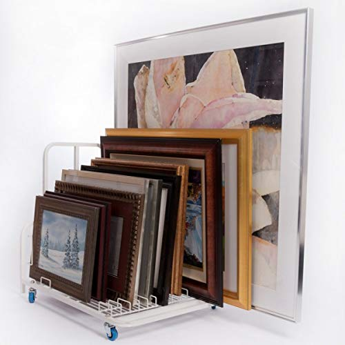 Dryden Art and Canvas Keeper Large Floor Model with Casters/Handle 33x25.5x30.5'' by Mack Dryden (Image #3)