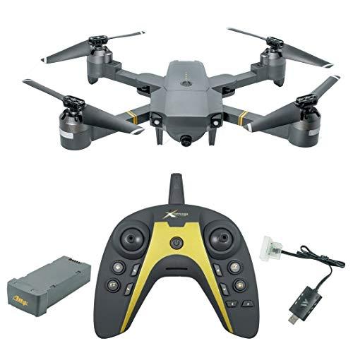 Swiftgood XT-1 WIFI 2.4Ghz FPV 1080P HDカメラフォールディングRC Quadcopter with重力誘導固定高さVRモードリアルタイム伝送