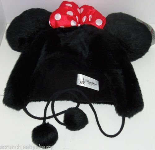 Disney Parks Minnie Mouse Ears Plush Bow Hat ()