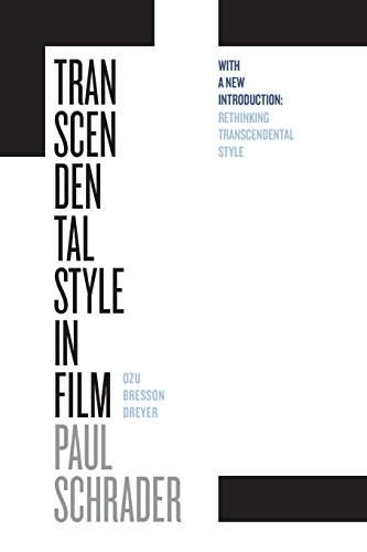 Pdf Entertainment Transcendental Style in Film