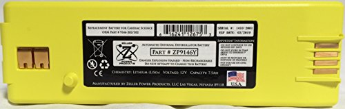 Intellisense Battery for Powerheart G3 AED Part No. 9146-302 by Burdick