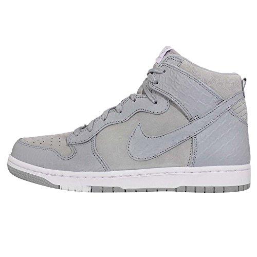 Nike Dunk Cmft Prm Lupo Grigio Bianco Scarpe Da Basket 705433 002