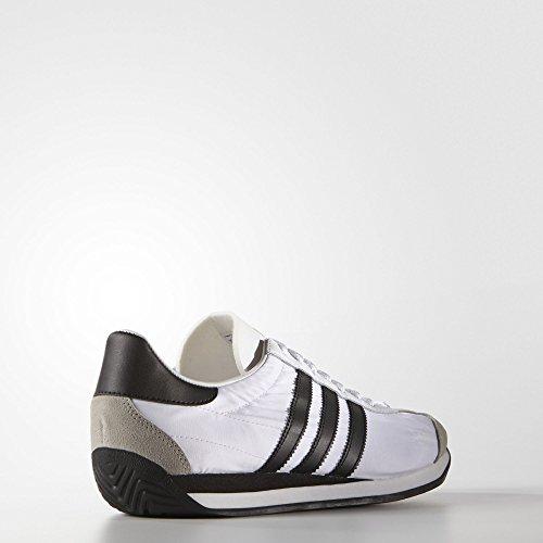Adidas Menns Opprinnelige Land Og Sko Hvit / Sort Kjerne / Faststoff Grå (s79106)