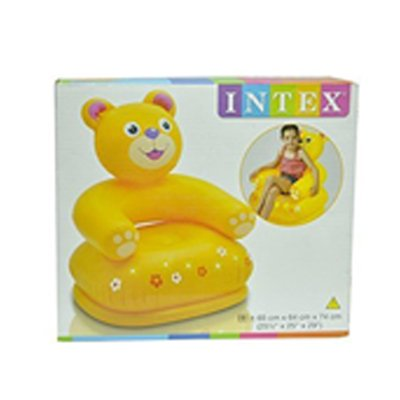 Intex Inflatable Animal Chair For Kids (Age: 3 8 Years)