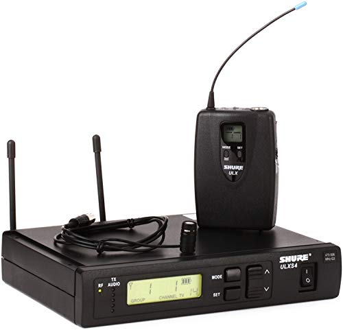 Shure ULXS14/85 Wireless Lavalier Microphone System - G3 Band, 470-505MHz
