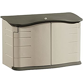 Rubbermaid Horizontal Storage Shed, 2 ft. 3 in. x 4 ft. 6 in (FG374801OLVSS)