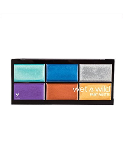 Wet n Wild Halloween 2017 Fantasy Makers Paint Palette Metallics -