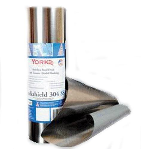 (York Manufacturing Resys304ss12/20 Yorkshield 304 Stainless Steel Flashing)