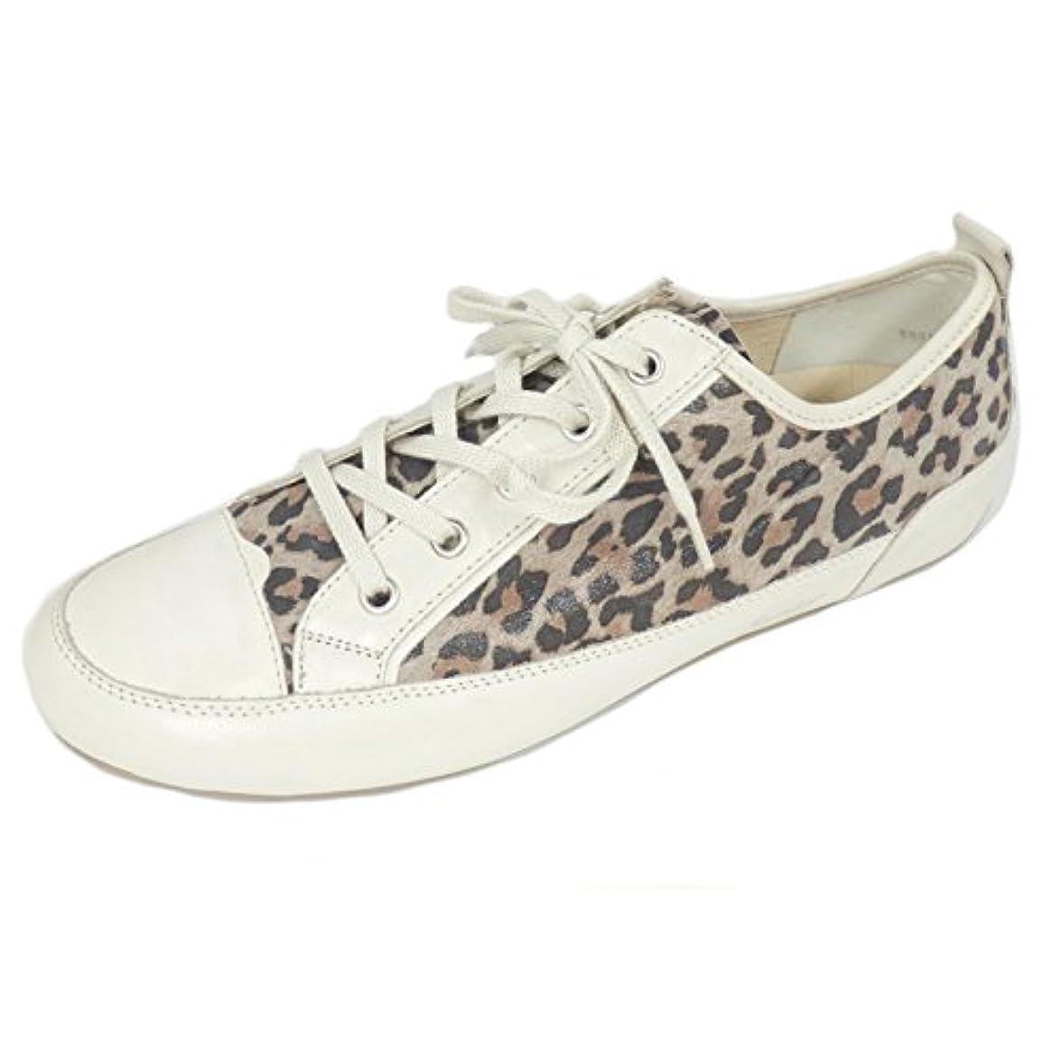 Semler Sneaker Donna Beige Leopardenmuster
