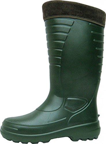 BOCKSTIEGEL–Stivali Caldo fodera eva Uomo–Heiko, colore: verde oliva; Dimensioni: 44