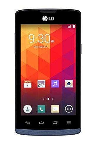 LG Joy Smartphone (10,2 cm (4,0 Zoll) IPS-Display, 1,2 GHz-Dual Core, 5 Megapixel-Kamera, 4 GB interner Speicher, Android 4.4) blau