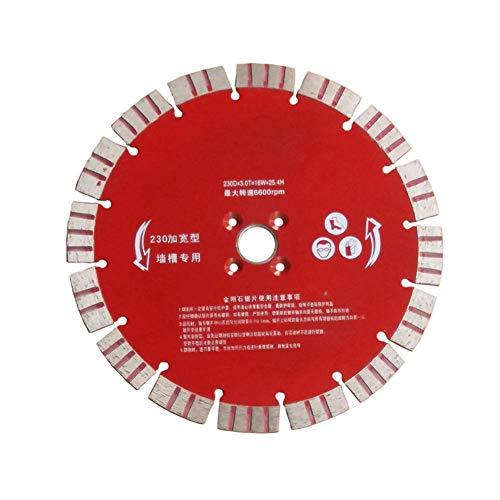 CHUNSHENN 切断砥石 切断工具 コンクリートスライススロッティングマシンソーブレード直径230ミリメートル 切削ディスク