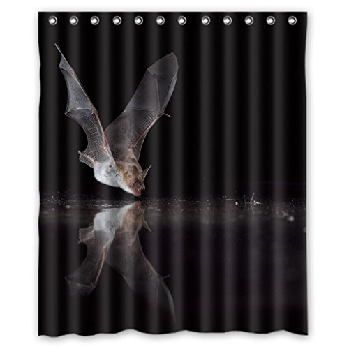 Bat High Quality Promotion Waterproof Shower Curtain Measure - Bat Shower Curtain